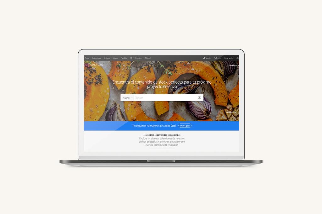 Bancos de imágenes Adobe