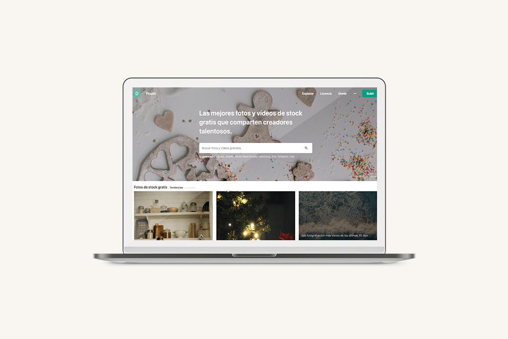 Bancos de imágenes Pexels