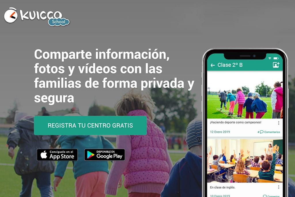 Kuicco School la herramienta para los centros educativos.