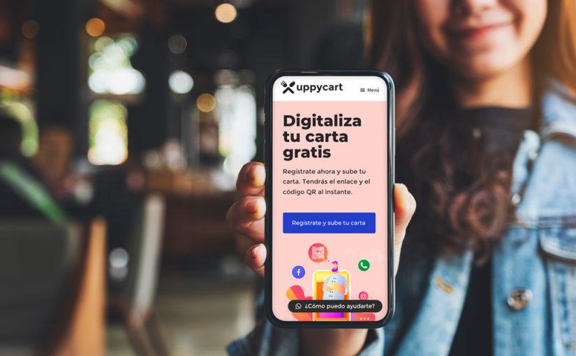 Uppycart es una plataforma para digitalizar cartas de forma gratuita.